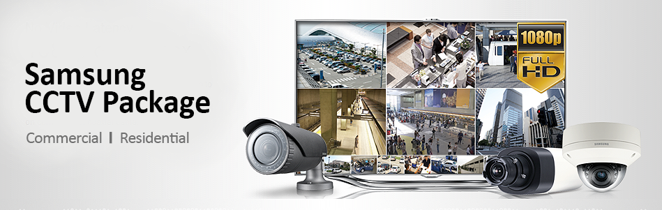 Samsung CCTV Systems and CCTV Package