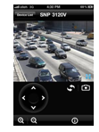 iPolis Mobile for iPhone for CCTV systems